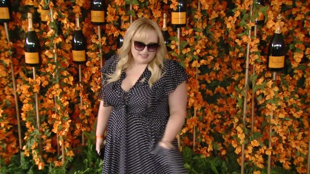 rebel wilson at the ninthannual veuve clicquot polo classic los angeles at will rogers state historic park on october 06 2018 in pacific palisades... - pacific palisades stock videos & royalty-free footage