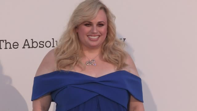 Rebel Wilson on the red carpet for the 2019 Cannes amfAR Gala at Hotel du Cap Eden Roc in Antibes Cannes France on Thursday May 23 2019