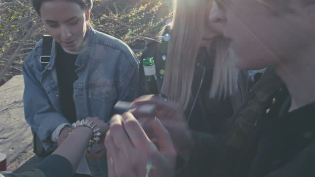 Girls smoking cigarettes video ppm — img 6