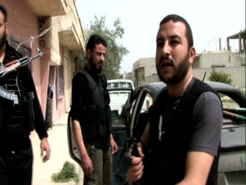 Rebels prepare for battle as the Syrian army invades Qusayr They push them back and the army withdraws and begins shelling again Syrian army attacks...