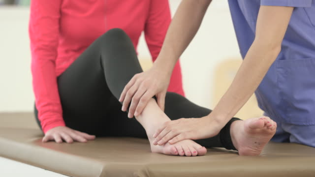 rebuilding the body - physical therapy stock videos & royalty-free footage
