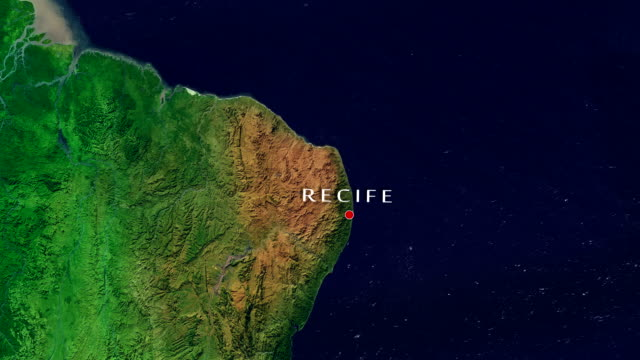 recife 4k zoom in - recife stock videos and b-roll footage