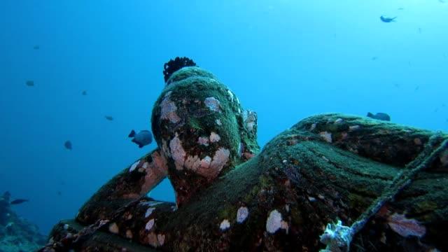 Ruhender Buddha Unterwasser