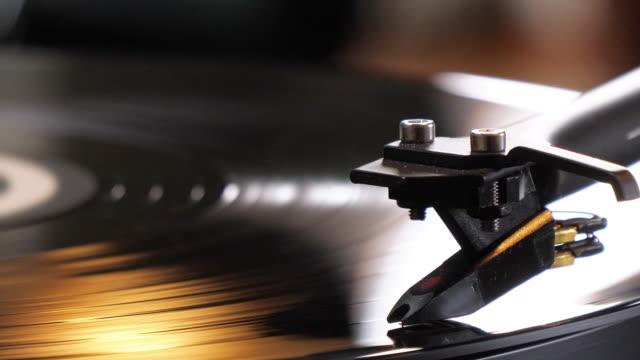 record player - hi fi video stock e b–roll
