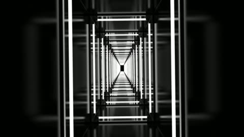 rectangle tunnel loop - super slow motion stock videos & royalty-free footage