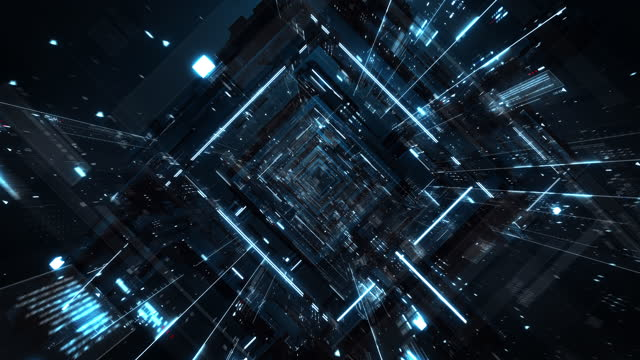 rectangular data space - rechteck stock-videos und b-roll-filmmaterial
