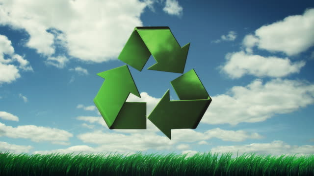 Recycle Clouds Grass