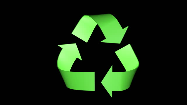 recycling symbol - recycling stock-videos und b-roll-filmmaterial