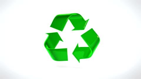 recycle symbol - symbol stock videos & royalty-free footage