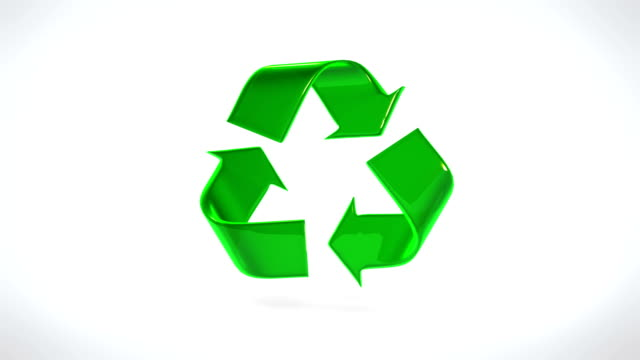 recycle symbol - symbol stock videos & royalty-free footage