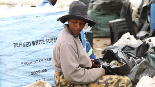 recycling in harare - plastic cap stock videos & royalty-free footage