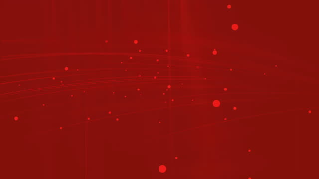 Red Abstract technology background, Seamless Loop