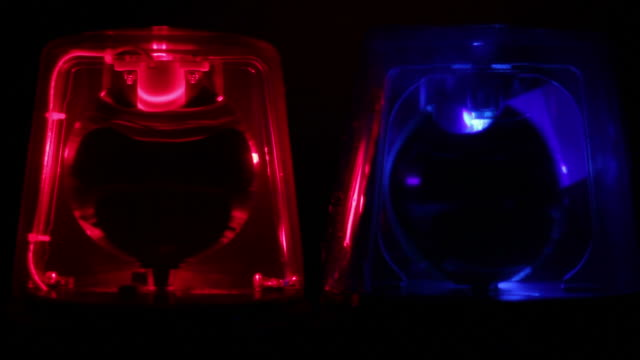Red & Blue Police siren beacons