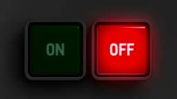 Red and green buttons. HD