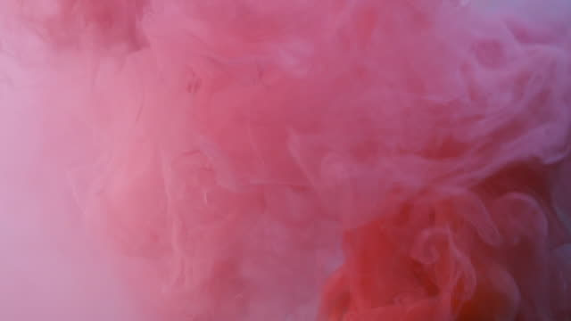 red and pink smoke - smoke physical structure stock videos & royalty-free footage