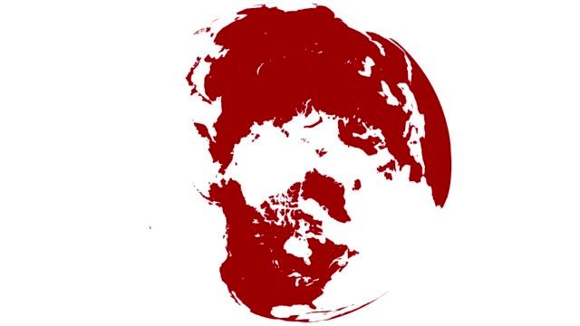 赤と白の世界 - 美術工芸品点の映像素材/bロール