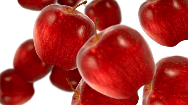 red apples - abundance stock videos & royalty-free footage