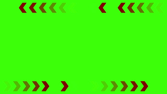 vídeos de stock e filmes b-roll de red arrows on a green background - arrow symbol