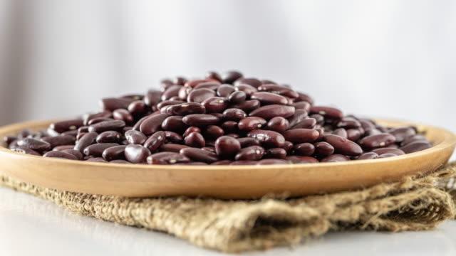 red beans, protein food - bean stock videos & royalty-free footage