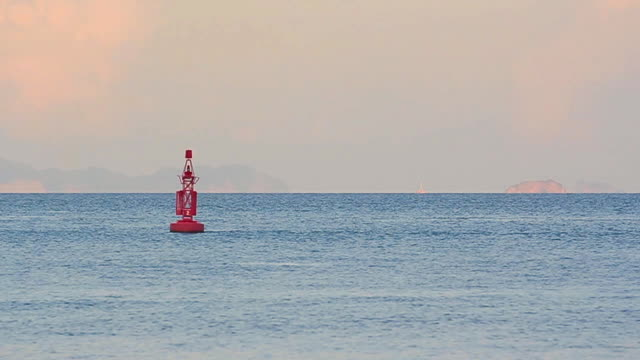 red buoy - buoy stock videos & royalty-free footage