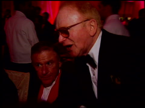 red buttons at the 1997 academy awards governor's ball at the shrine auditorium in los angeles, california on march 24, 1997. - 69th annual academy awards stock videos & royalty-free footage