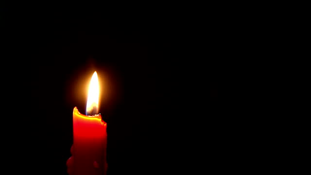 red candle lighting - candle stock videos and b-roll footage