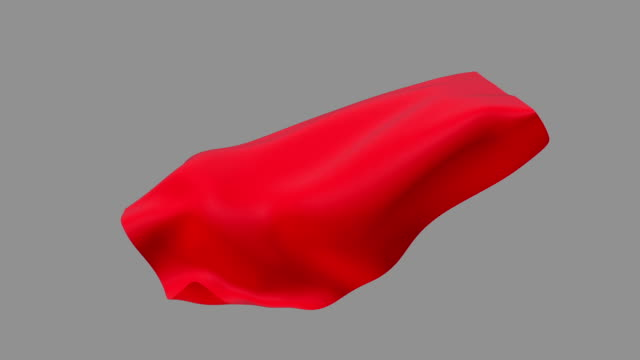 red cape waving - textile stock videos & royalty-free footage