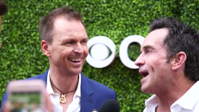 tca red carpet 2017 - reality fernsehen stock-videos und b-roll-filmmaterial
