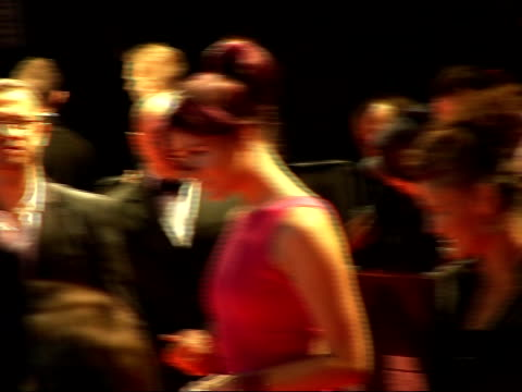 red carpet arrivals and interviews at fashion rocks 2007 joss stone wearing tight bright pink francisco costadesigned dress from a new calvin klein... - pink singer stock videos and b-roll footage
