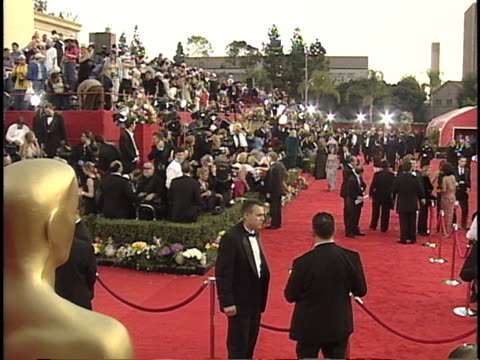 red carpet at the academy awards 2001 at shrine los angeles in los angeles ca - 73rd annual academy awards stock videos & royalty-free footage