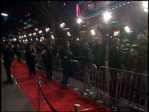 red carpet at the 'family man' premiere at grauman's chinese theatre in hollywood california on december 12 2000 - the family man film title stock videos & royalty-free footage
