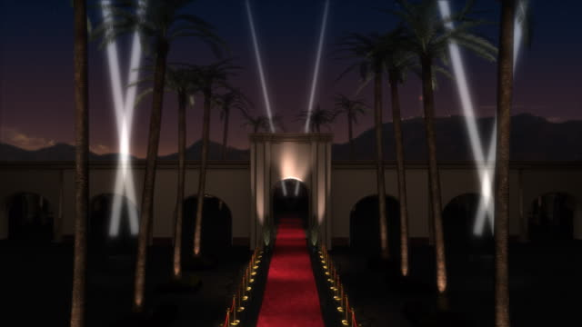 red carpet event - searchlight stock videos & royalty-free footage