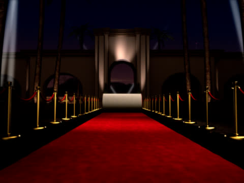 red carpet event - academy of motion picture arts and sciences stock videos and b-roll footage