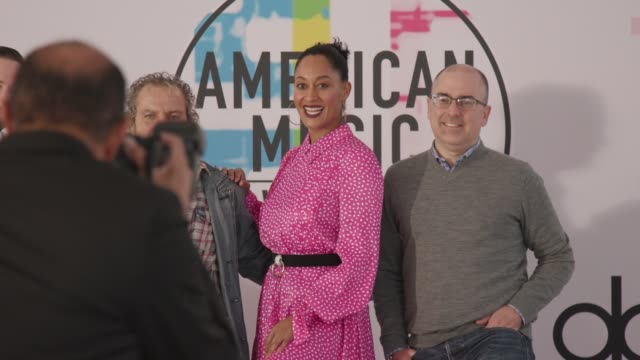ATMOSPHERE red carpet roll out at the 2017 American Music Awards Red Carpet Roll Out and Press Day on November 16 2017 in Los Angeles California