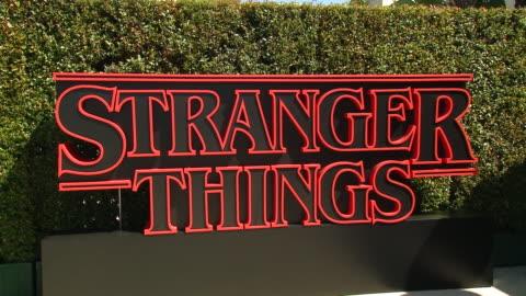 "red carpet - ""stranger things"" season 3 world premiere in los angeles, ca 6/28/19 - premiere stock videos & royalty-free footage"