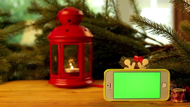 red christmas lantern decorate - snow chroma key stock videos & royalty-free footage