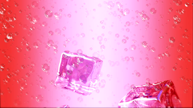 red cocktail with ice and lemon - läsk bildbanksvideor och videomaterial från bakom kulisserna