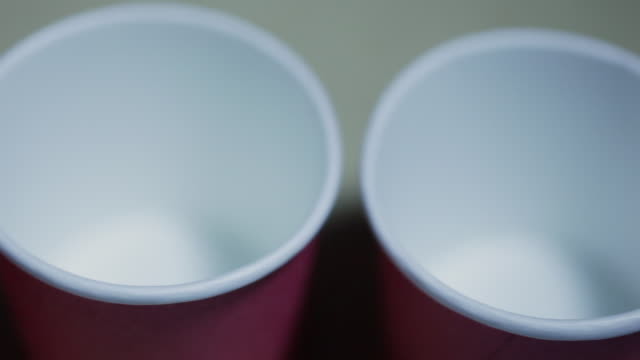 red cups with medicine - cup stock videos & royalty-free footage