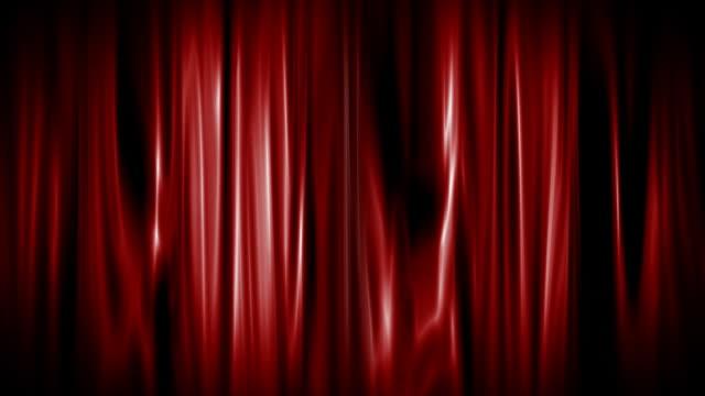 Roter Vorhang öffnen mit alpha-Matten