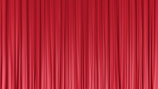 red curtain - curtain stock videos & royalty-free footage