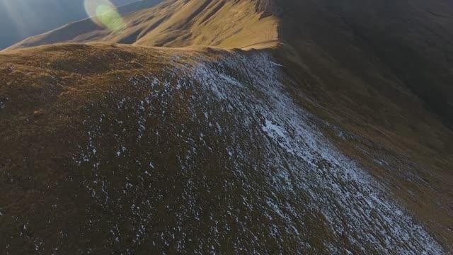 vídeos y material grabado en eventos de stock de ciervos rojos en las montañas - animales acechando