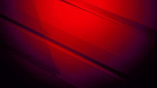 red diagonal 3d rectangular sharp prisms and cuboids slowly turning and spinning around on a colored gradient background 4k loopable motion video for technology, communication, transitions, party-social events, celebration events, finance, data concepts - rectangle stock videos & royalty-free footage