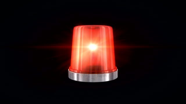 red emergency flasher - alertness stock videos & royalty-free footage
