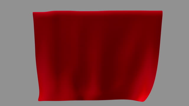 red fabric waving from a ceiling - discovery stock videos & royalty-free footage