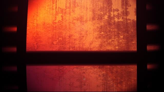 Red Film Reel Loopable