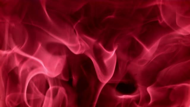 SLO MO の赤い火