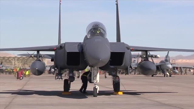 Red Flag operations on Nellis Air Force Base Red Flag a realistic combat training exercise involving the air forces of the United States and its...