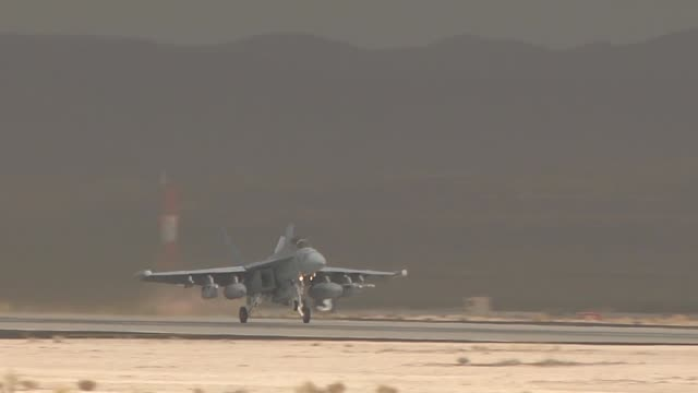 red flag operations on nellis air force base. red flag a realistic combat training exercise involving the air forces of the united states and its... - us airforce stock videos & royalty-free footage