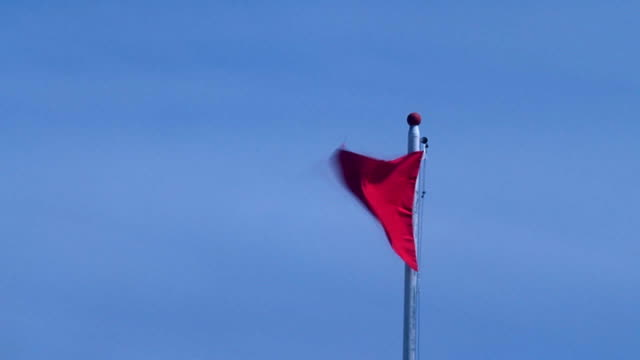 red flag - flag stock videos & royalty-free footage
