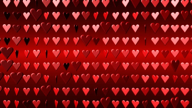Red Hearts Beating (Loopable)